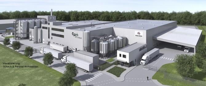 Neubau Brauerei Carlsberg in Hamburg